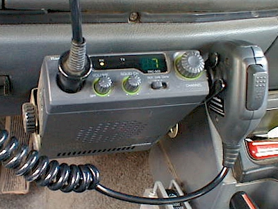 cherokee cb radio installation cb radio on channel 7 and ready to chat
