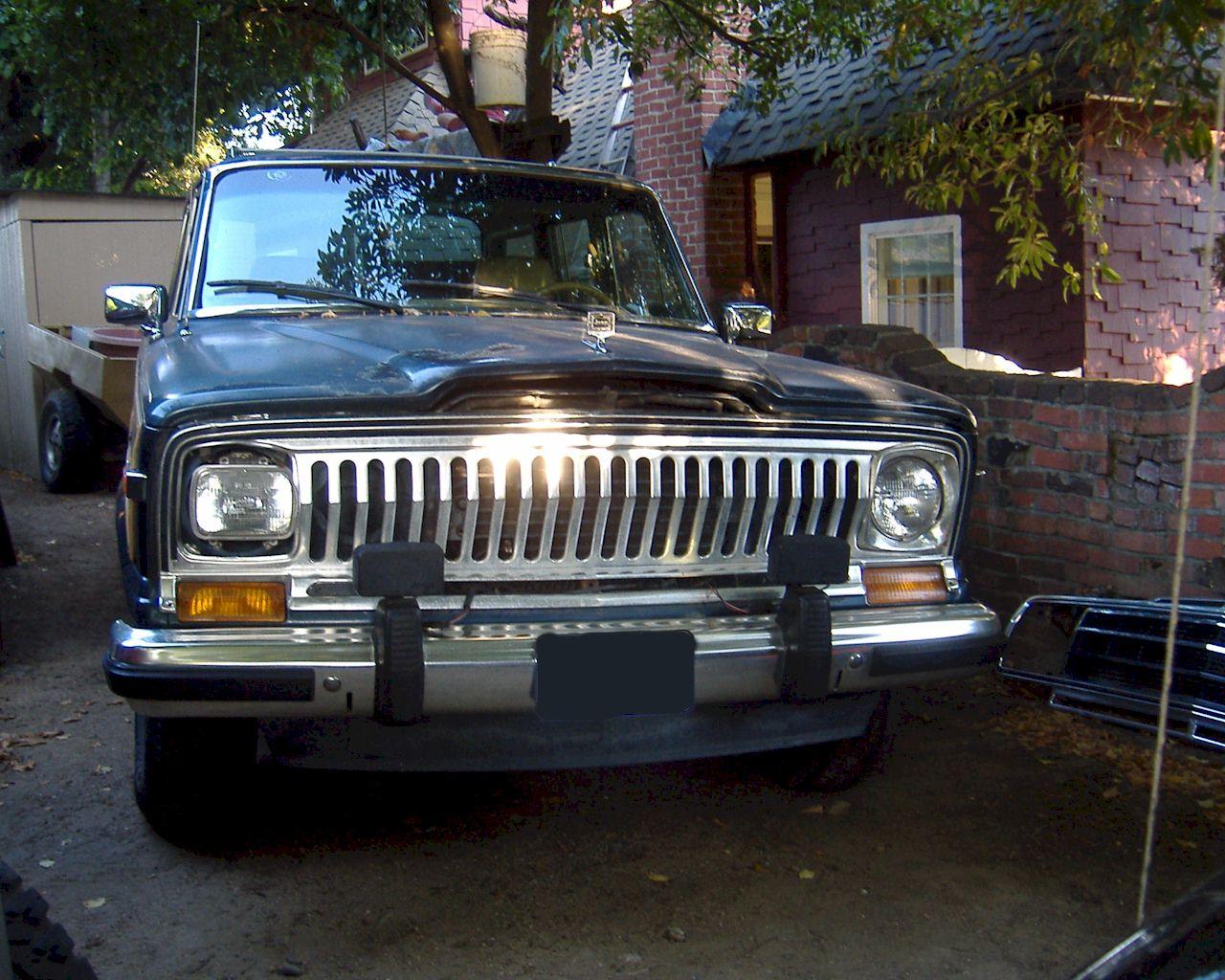 Razor Grille Swap For 1988 Jeep Grand Wagoneer Sj